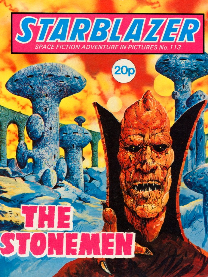 Starblazer 113: The Stonemen