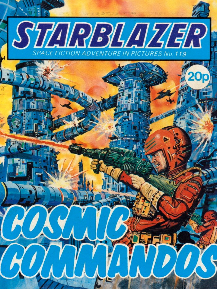 Starblazer 119: Cosmic Commands