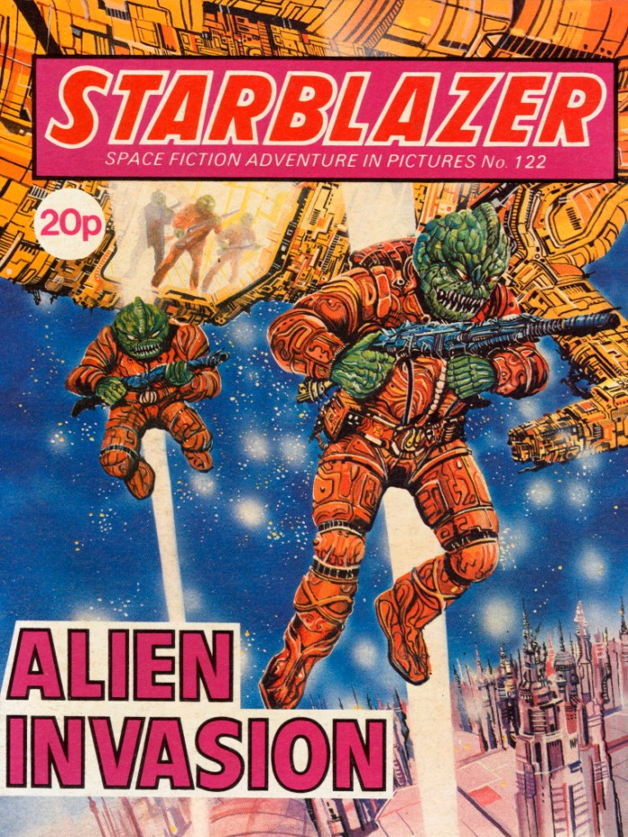 Starblazer 122: Alien Invasion