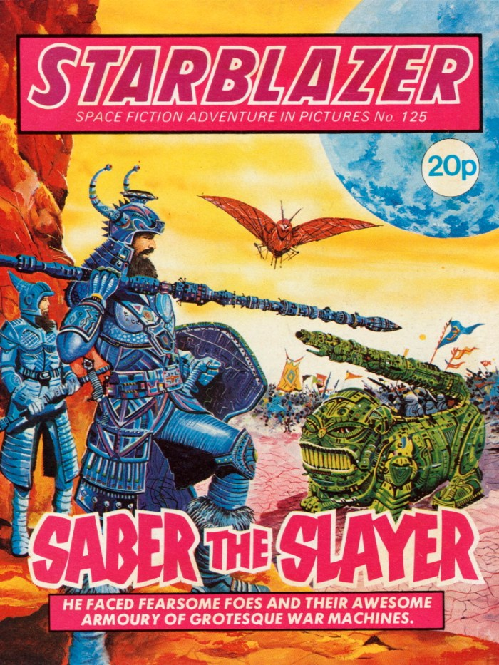 Starblazer 125: Saber the Slayer