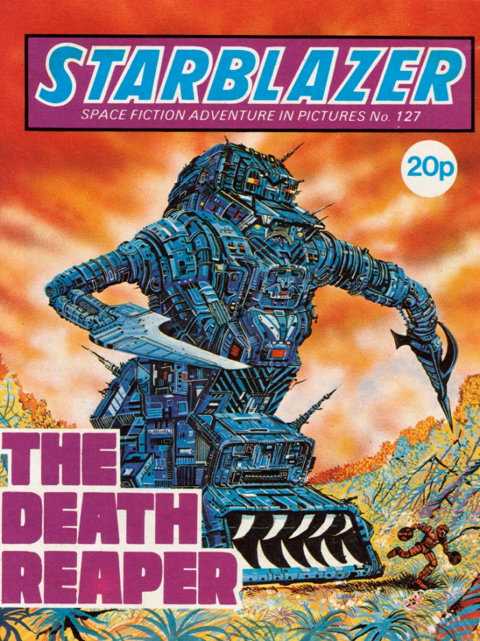 Starblazer 127: The Death Reaper