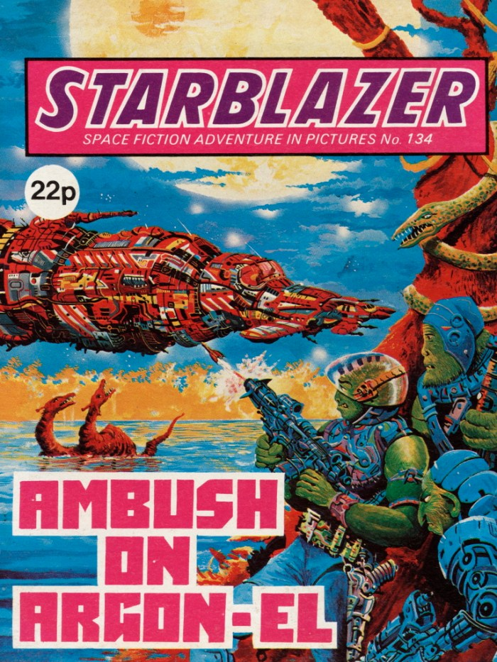 Starblazer 134: Ambush on Angon-El