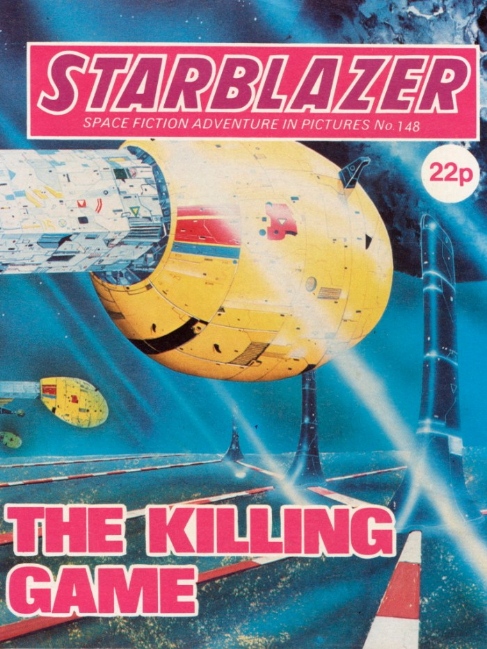 Starblazer 148: The Killing Game