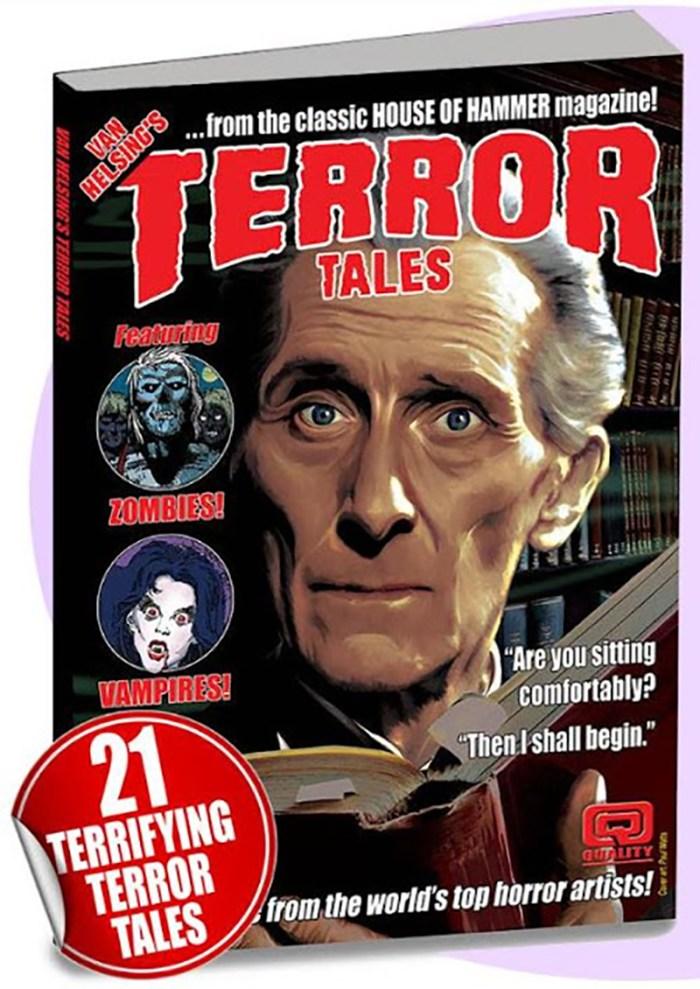 Van Helsing's Terror Tales - Promotional Image