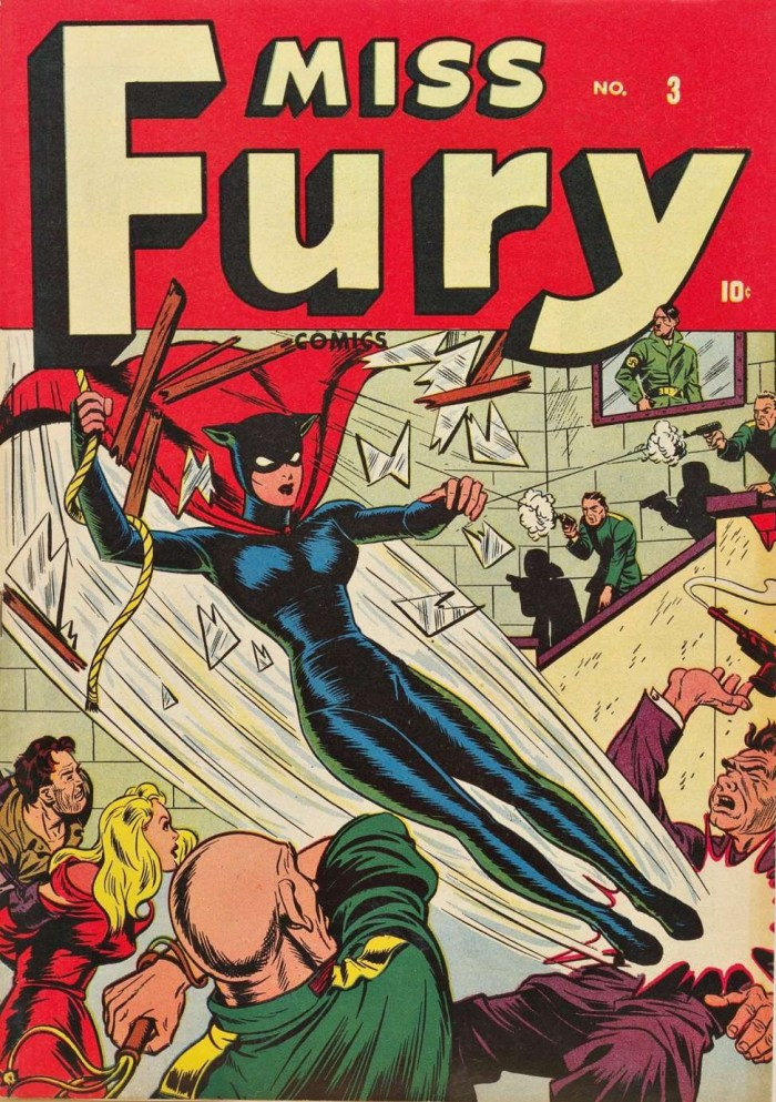 Miss Fury #3 - Cover