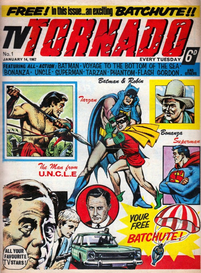 TV Tornado #1 cover courtesy Lew Stringer