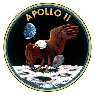 Apollo 11 Mission Badge