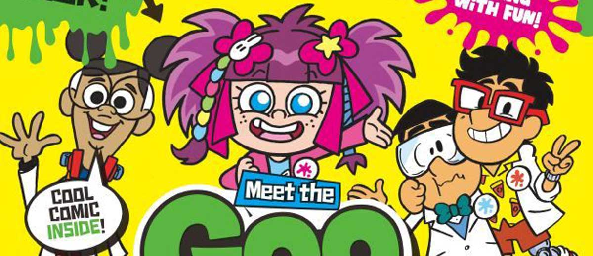 """DC Thomson launches """"Slime Factory"""""""