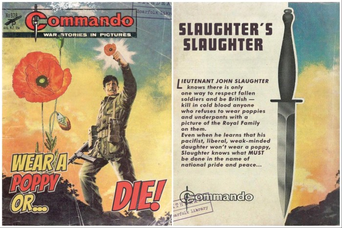 Scarfolk had some very different but strangely familiar comics on sale in 1975