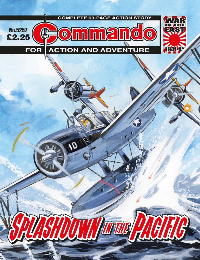 Commando 5257: Action and Adventure: Splashdown in the Pacific