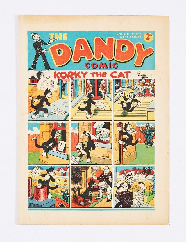 Dandy No 18 (1938) First April Fool number