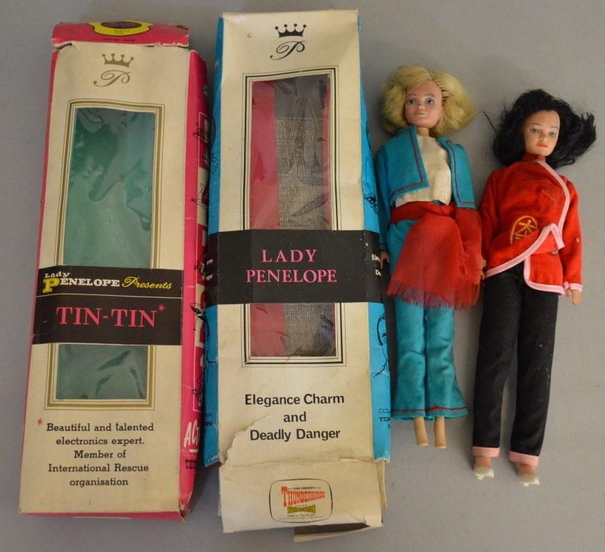 "Fairylite ""Lady Penelope"" Thunderbirds Figures"