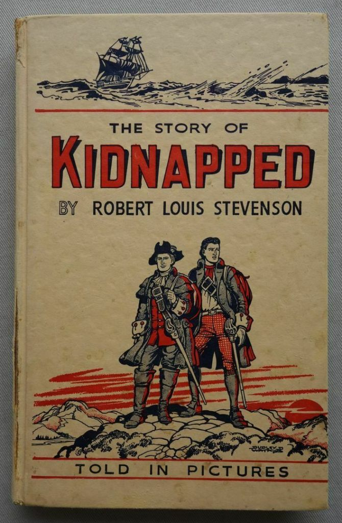 The Story of Kidnapped - illustrated by Dudley D. Watkins