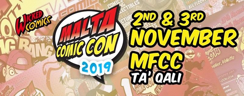 Malta Comic Con 2019 dates, attendance package deals announced