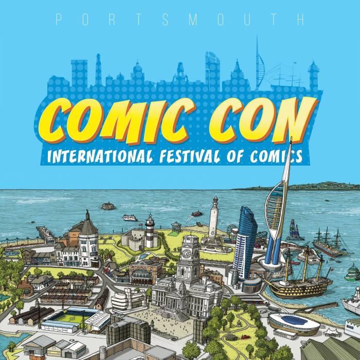Portsmouth Comic Con Banner