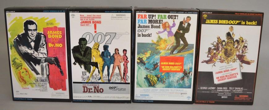 Sideshow James Bond 007 12 inch Figures,