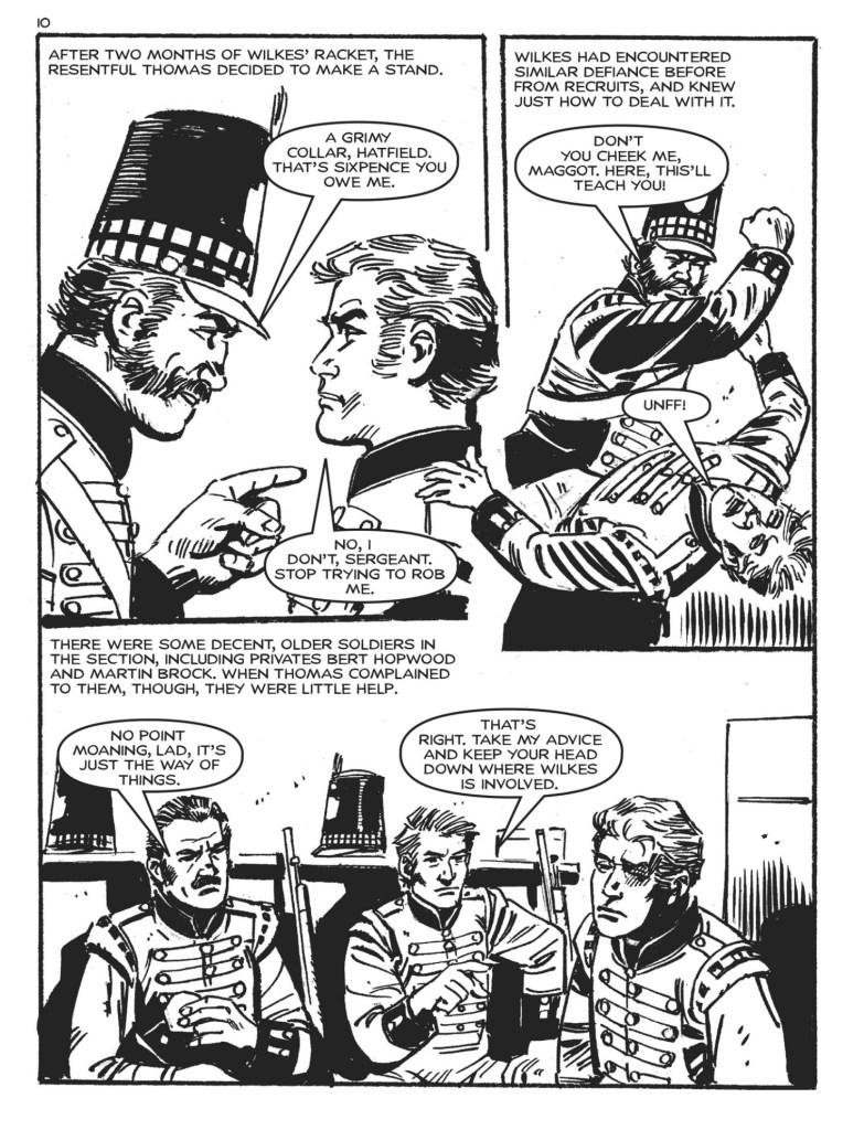 Commando Issue 4843 - Peterloo! - art by Carlos Pino