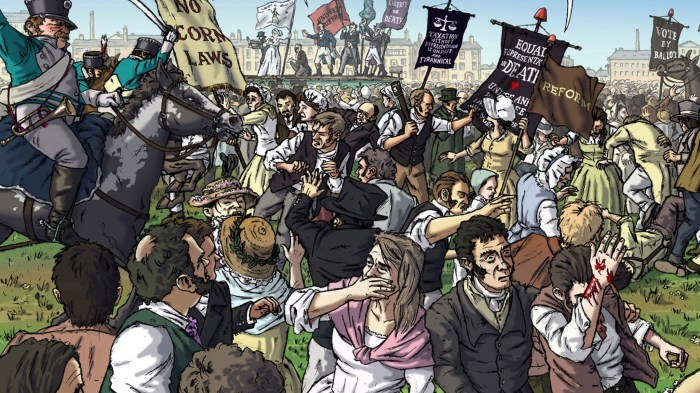 Art from Peterloo: Witnesses to a Massacre by Polyp, Eva Schlunke and Robert Poole