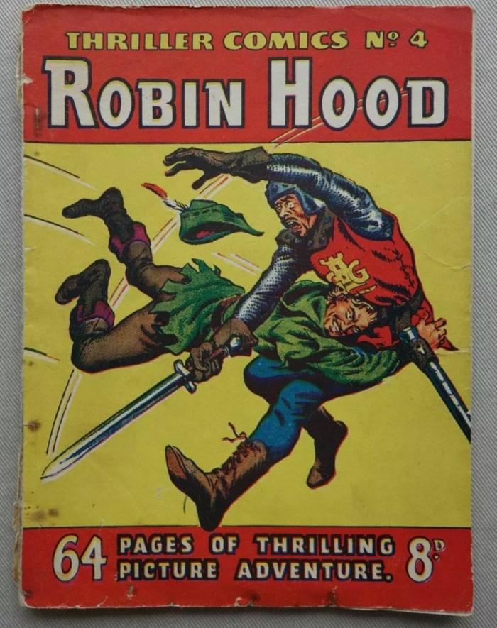 Thriller Comics No. 4 - Robin Hood