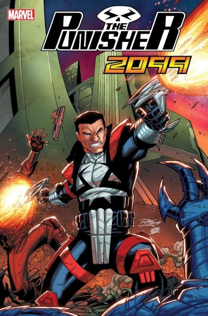 Punisher 2099 #1 - Ron Lim Cover