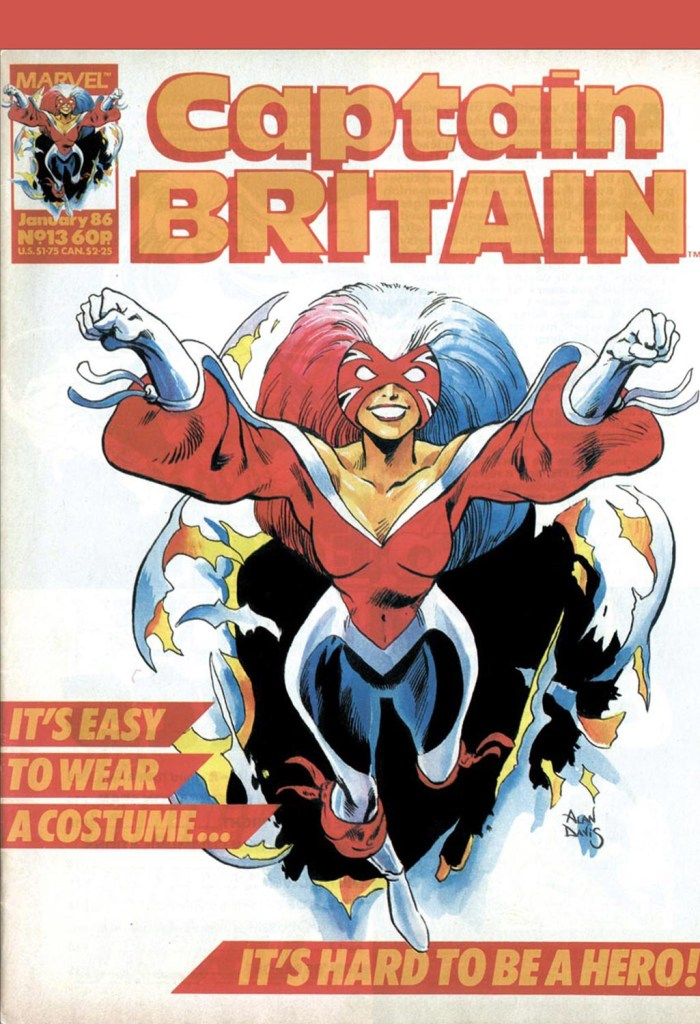 Captain Britain #13 Volume 2 (1985)