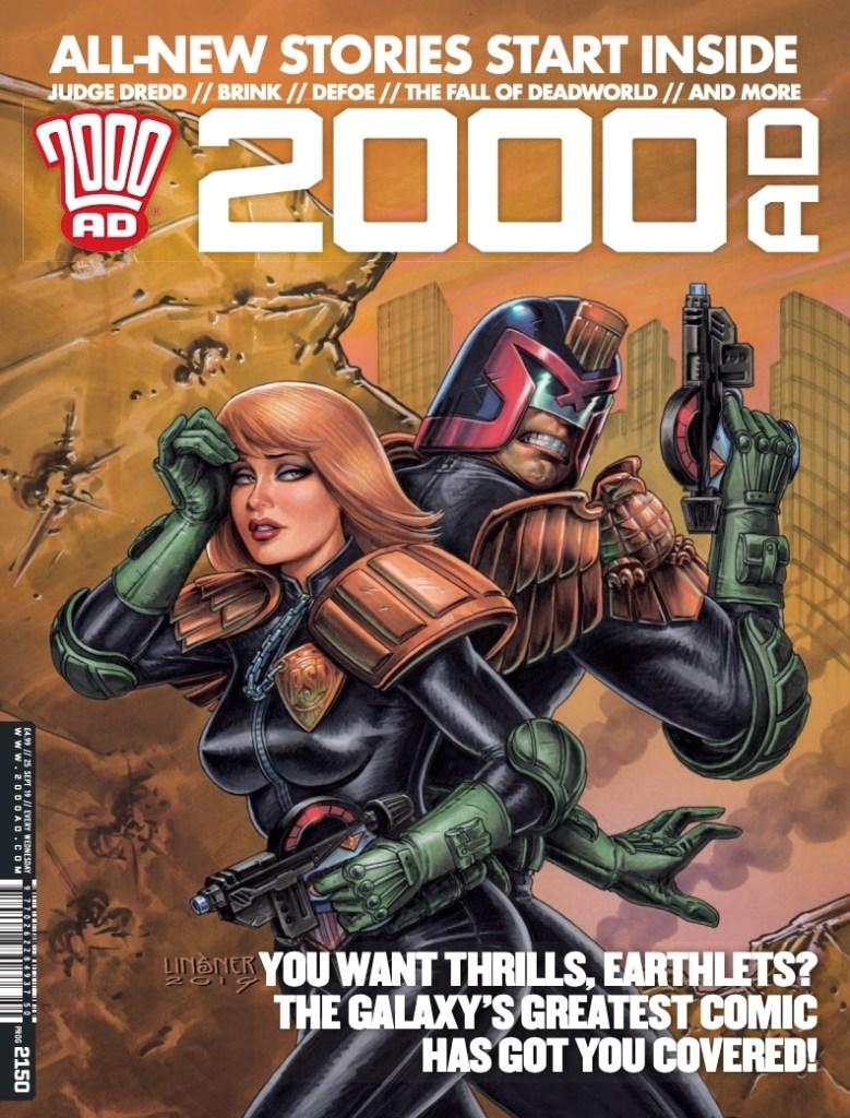 2000AD Prog 2500 - Cover
