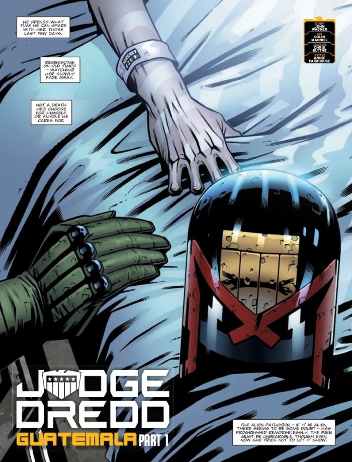 2000AD Prog 2500 - Judge Dredd