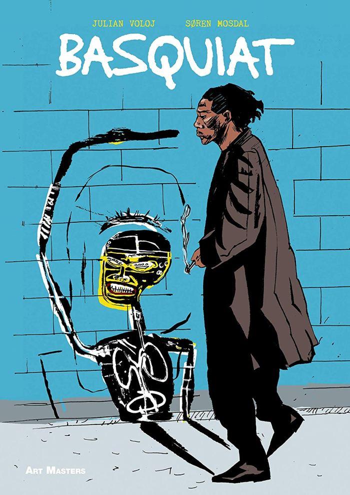 Art Masters: Basquiat, written by Julian Voloj, art by Søren Mosdal,