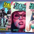 Death Sentence Liberty - Issues 1 t o4 - Covers