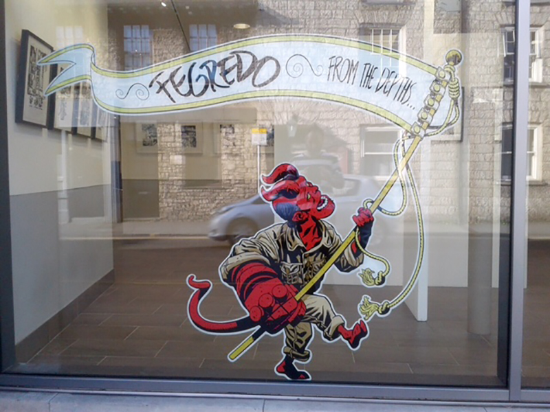 Duncan Fegredo's Hellboy Exhibition opens this Friday, in Kendal