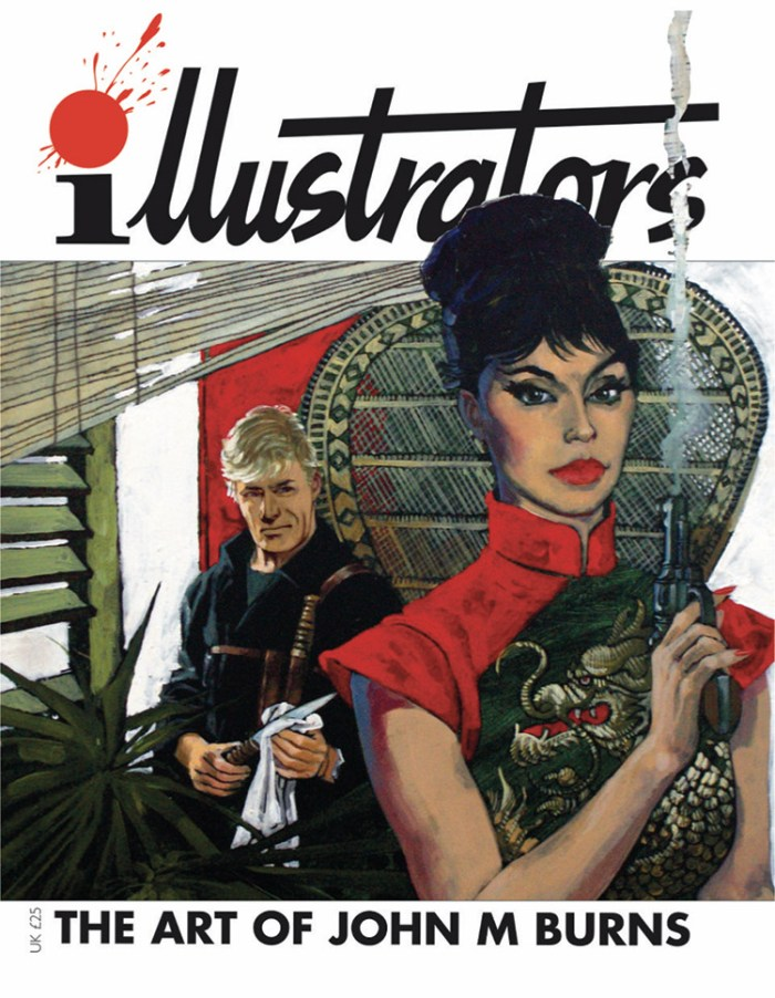 The Art of John M Burns - illustrators Special Edition. Note - cover may be subject to change