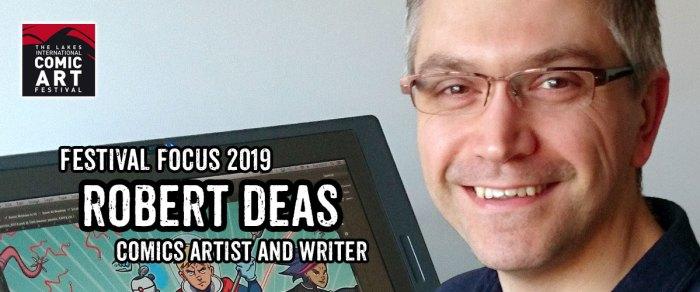 Lakes Festival Focus 2019: Comic Artist and Writer Robert Deas