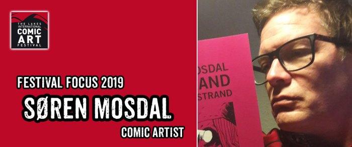 Lakes Festival Focus 2019: Comic Artist Søren Mosdal