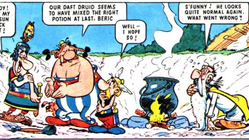 When British Comics were… European!