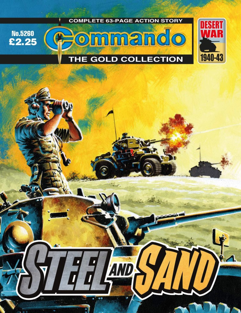 Commando 5260: Gold Collection: Steel and Sand