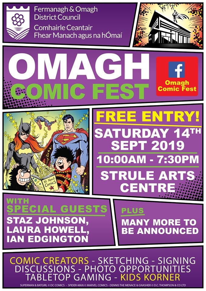 Omagh Comic Fest 2019