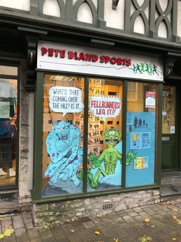 Lakes International Comic Art Festival 2019 Windows Trail. Image: John Freeman