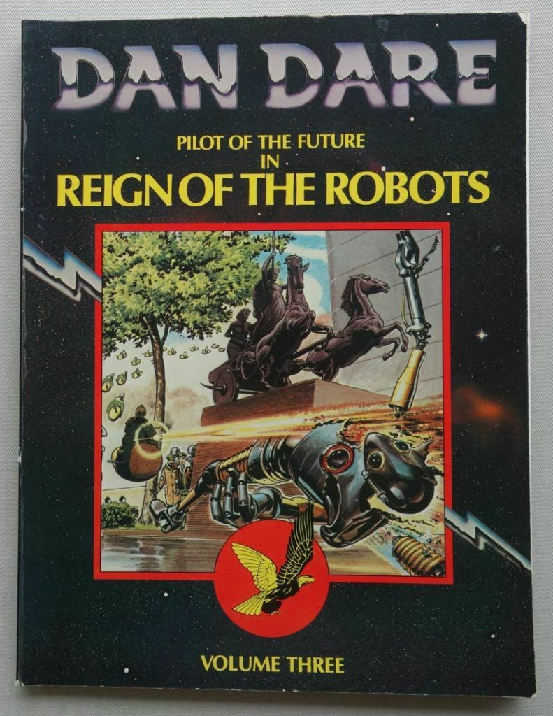 Dan Dare in Reign of the Robots collection