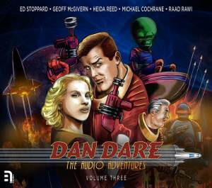 Dan Dare: The Audio Adventures Volume Three Cover