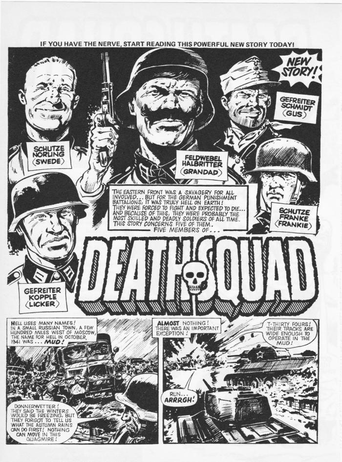 Death Squad Part 1 by Alan Hebden and Eric Bradbury