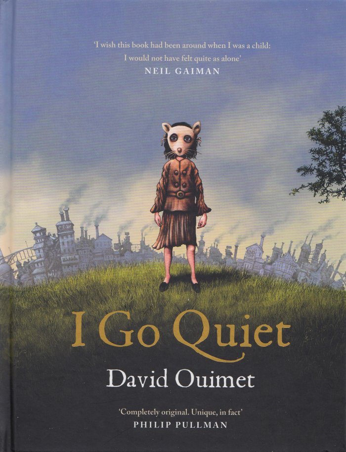 """""""I Go Quiet"""" by David Ouimet - Cover"""