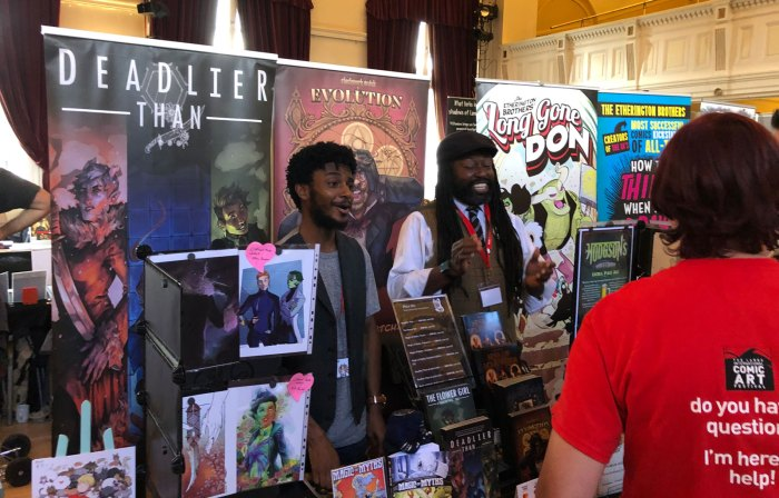LICAF 2019 - Corey Brotherson and Yomi Ayeni of Clockwork Watch