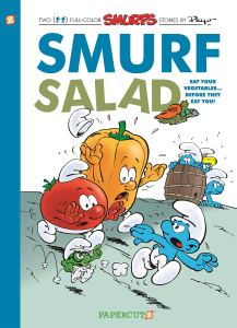 Out this week from Papercutz - Smurf Salad, the 26th English language album from the US publisher