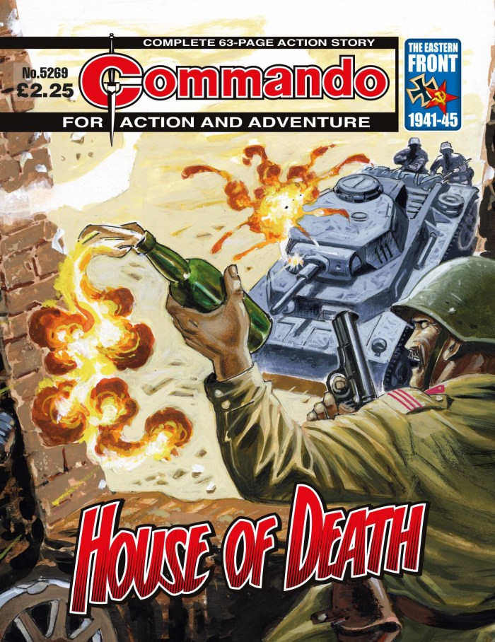 Commando 5269: Action and Adventure: House of Death