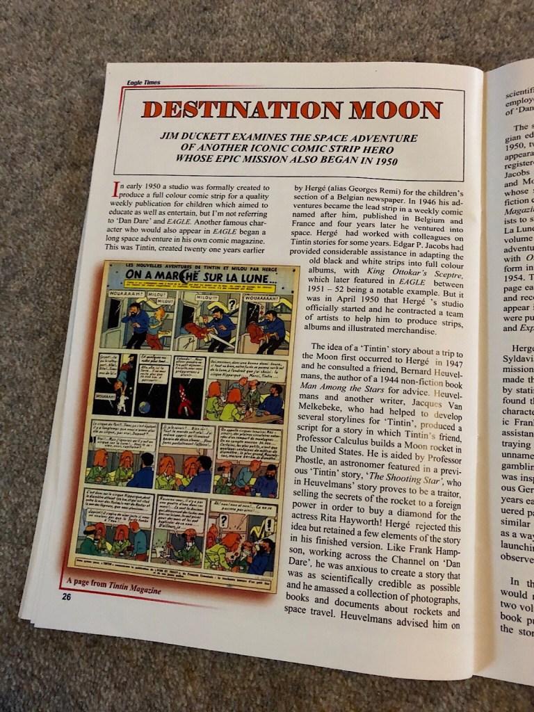 Eagle Times - Volume 32 No. 3 Autumn 2019  - Destination Moon