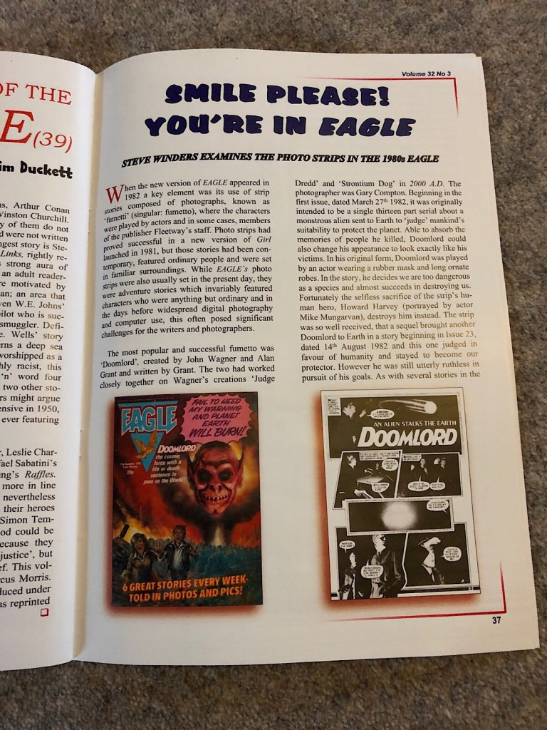Eagle Times - Volume 32 No. 3 Autumn 2019  -  Eagle Photo Strips