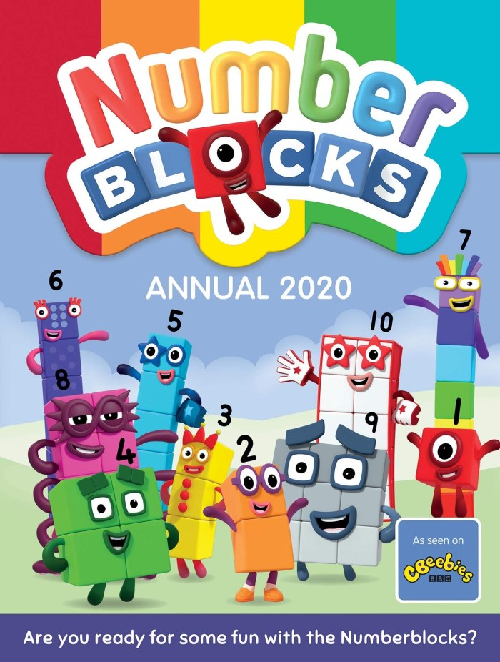 Numberblocks Annual 2020