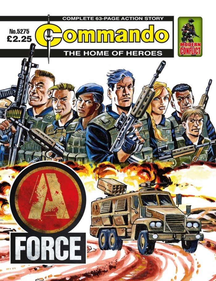 Commando 5275: Home of Heroes - A-Force
