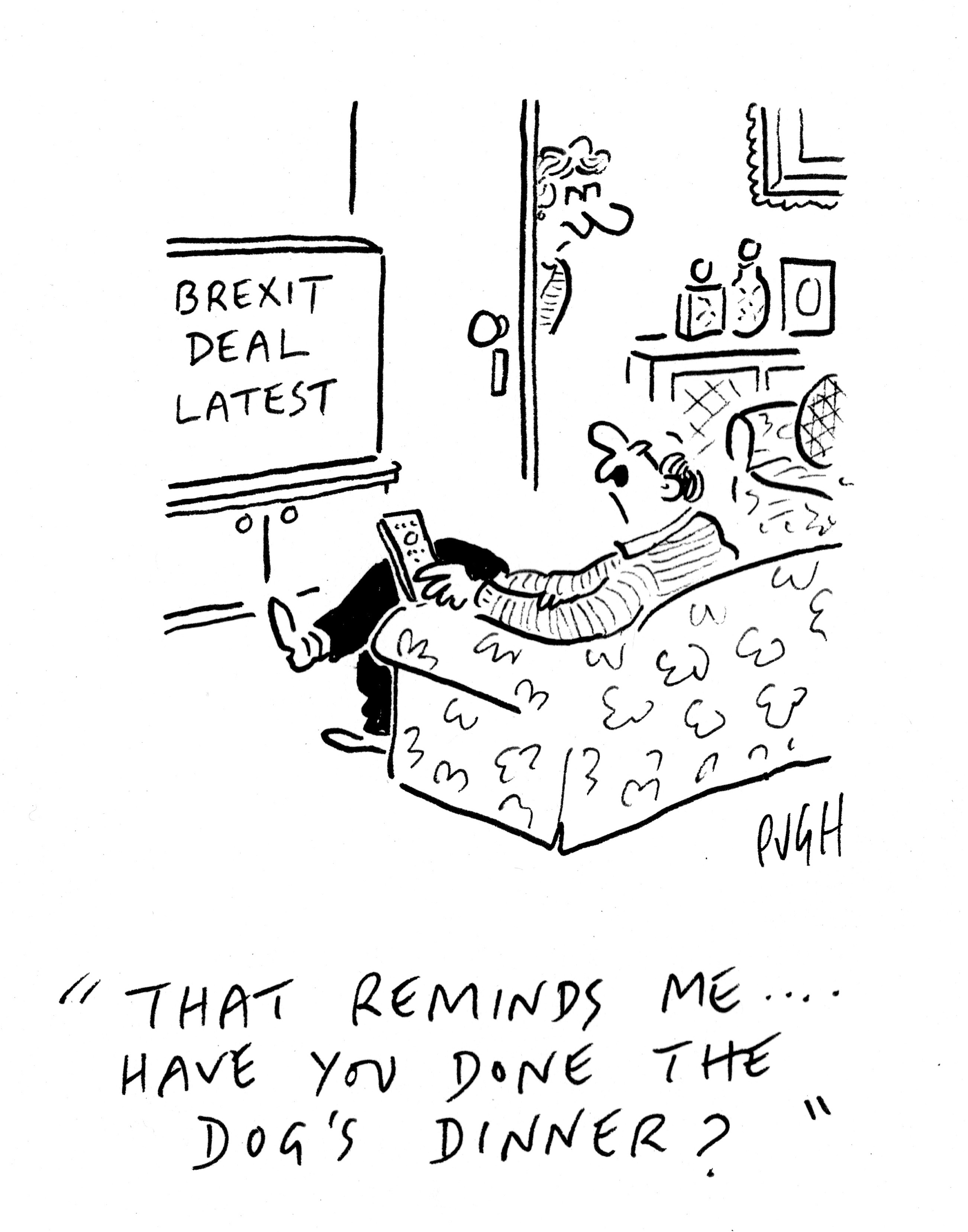 "Britain's ""Political Pocket Cartoon of the Year"" 2019"