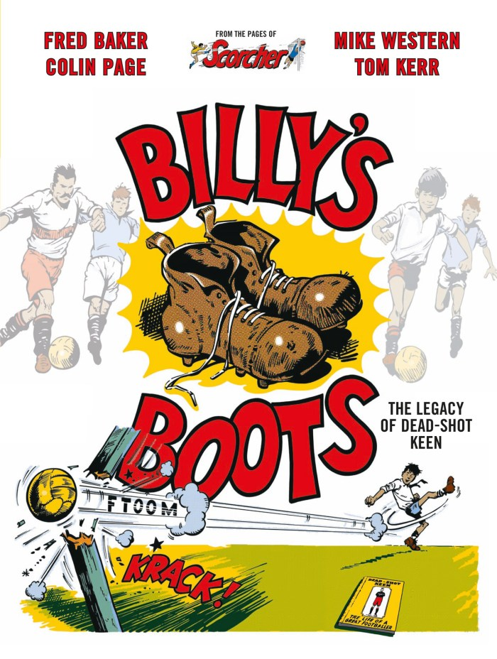 Billy's Boots, Book One - Final Cover